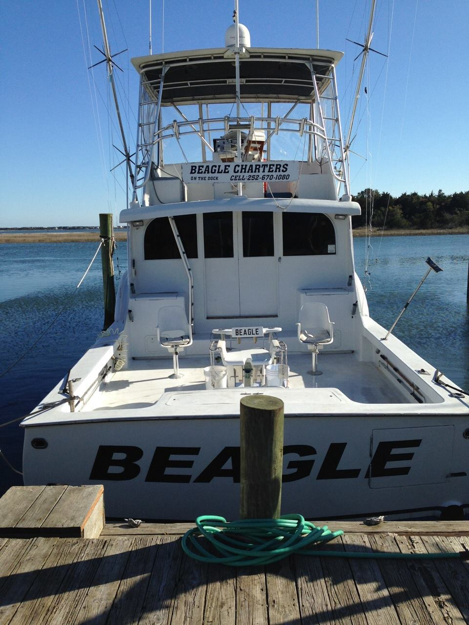 Charter Fishing in Morehead City